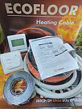 4.5 - 3.8м2 Нагрівальний кабель 680Вт 38м Fenix ADSV18 (Чехія) для теплої підлоги 3,8-4,5 м. кв під плитку, фото 3