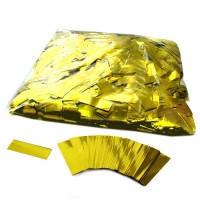 """Метафан - конфетти  """"Полоски"""" фольгированные золото 250 г"""