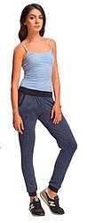 Штани спортивні Paulo Connerti Active 06 жінкам синій/чорний (t-206-col4) - S