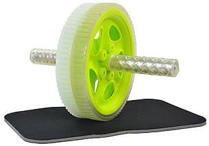 Ролик PROfit для вправ  + килим для вправ (W0226)