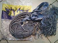 f108a9b4dd80f Сеть финская рыболовная ячейка 30, сеть 30 метров, вшитый груз, для  промышленного лова