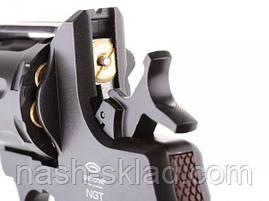Пистолет пневматический Gletcher NGT (Наган), фото 3
