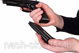 Пистолет пневматический KWC Beretta 92 auto, фото 3