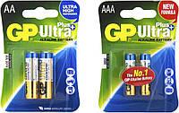 Батарейка GP Ultra Plus ALKALINE LR6 AA, палец