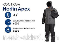 Зимний костюм Norfin Apex размер XXXL, фото 3