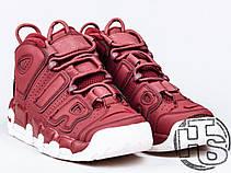 c6650a08f2ae Мужские кроссовки Nike Air More Uptempo Bordeaux 921949-600 - купить ...