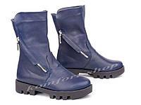 Ботинки зимние кожаные V 1049
