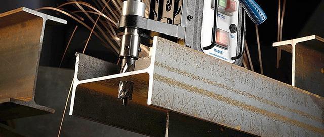 Сверлильный станок на магнитной платформа