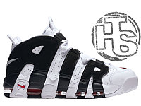Мужские кроссовки Nike Air More Uptempo White/Black/Varsity Red 414962-105