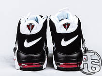 Мужские кроссовки Nike Air More Uptempo White/Black/Varsity Red 414962-105, фото 2