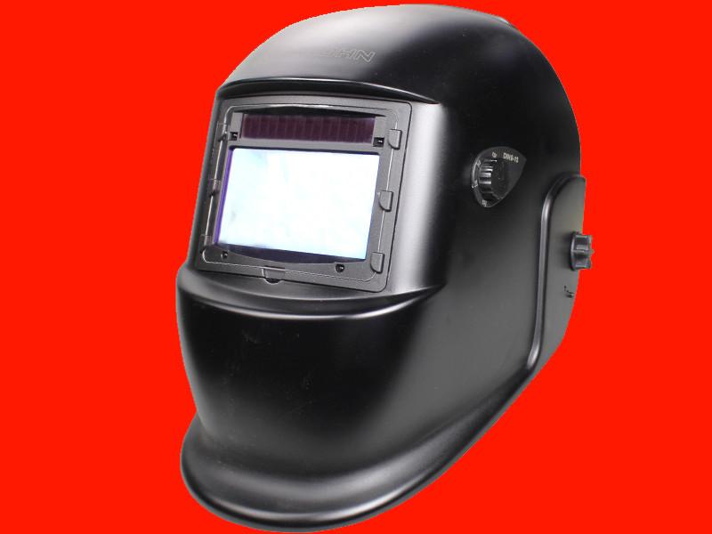 Сварочная маска хамелеон DIN 9-13 Титан Krohn S777 Black Profi