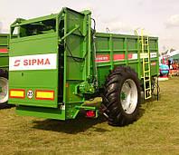 Разбрасыватель навоза 6 тонн - SIPMA RO ZEFIR 600