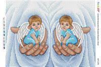 """Схема для вышивки бисером    """"В руках у Бога""""   размер: 42*30 см"""