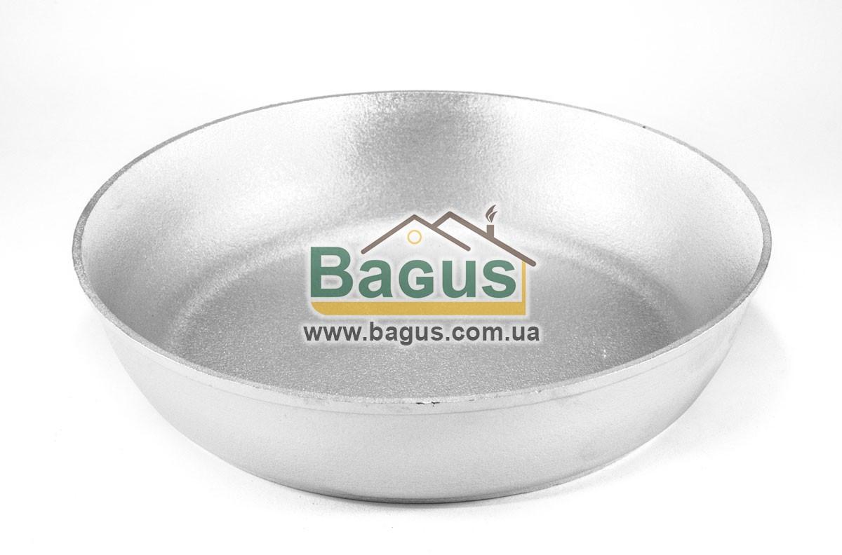 Форма для выпечки алюминиевая 26см (сковорода без ручек, противень круглый) Пролис (П-260)
