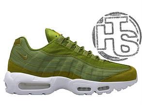 Мужские кроссовки Nike Air Max 95 x Stussy Dark Olive/Green 834668-337