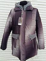 Женское зимнее пальто супер ботал 54 56 58 60 62 64