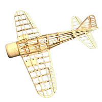 Mini Zero Fighter 400 мм Wingspan Balsa Wood Лазер Cut RC Airplane KIT