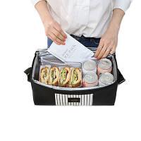 Мода Nylon Термальный обед Сумки Изолированный кулер Коробка Tote Мужчины Дети Взрослые Портативный контейнер для хранения пикн