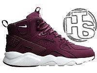 Мужские кроссовки Nike Air Huarache Winter Bordo