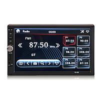 7012B 7 дюймов 2 Din HD Авто Радио Сенсорный экран с сенсорным экраном MP5 Bluetooth Aux Rear камера