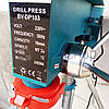 Сверлильный станок настольный с тисками Bavaria DP 103 вертикально свердлильний верстат сверлилка, фото 4