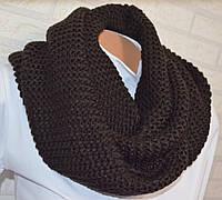 Снуд шарф хомут вязаный