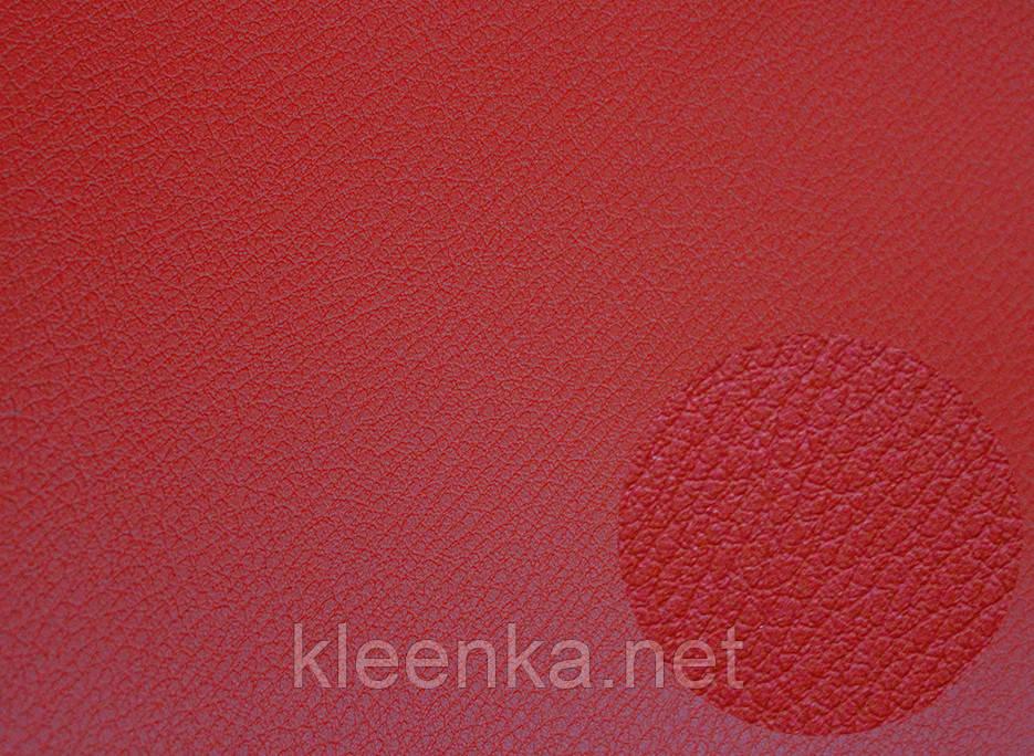 Ярко красный кожзаменитель для сидушек автомобилей и мебели, немецкое качество