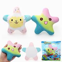 Vlampo Squishy Starfish Световой свет в темно-медленно растущей оригинальной упаковке Коллекция подарков