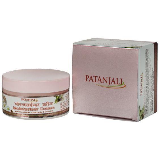 Защищающий и питающий крем Патанджали Ромашка  (Moisturizer cream Patanjali). С маслом Ши и оливковым маслом