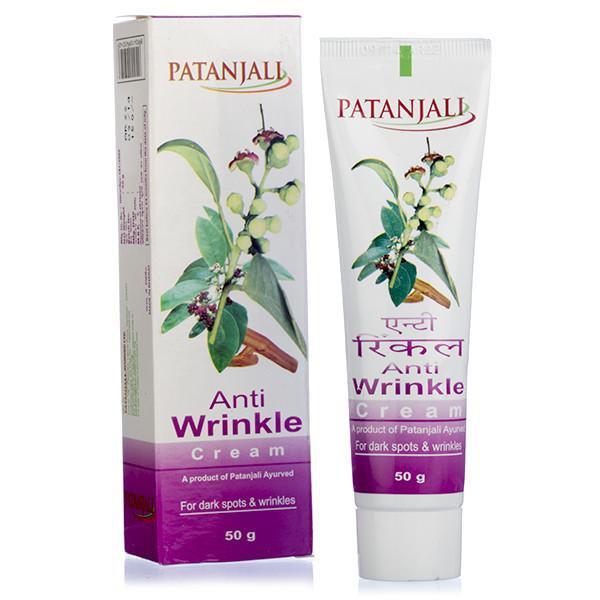 Крем против морщин Патанджали Аюрведа (Patanjali Anti Wrinkle Cream)