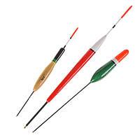 Лео10pcs3Модели14/17/22см Paulownia Wood Рыбалка Float Вертикальныйбуй Hard Tail Fish Float