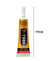 Клей силиконовый MECHANIC T7000, чёрный, 15ml, в тюбике с дозатором