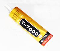 Клей силиконовый MECHANIC T7000, чёрный, 110ml, в тюбике с дозатором