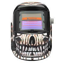 Скелет Шаблон Автоматическое затемнение Солнечная Сварочные сварочные аппараты Шлем Tig Маска Шлифовальные сварочные аппараты Маскаs, фото 3