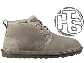 Мужские ботинки реплика UGG Neumel Suede Boots Dark Fawn Gray 3236