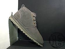 Мужские ботинки UGG Neumel Suede Boots Dark Fawn Gray 3236, фото 2