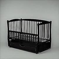 """Кроватка для новорожденного Элит,с ящиком. тм""""Дубок"""""""