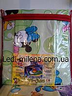 Детский комплект постельного белья в кроватку хлопок