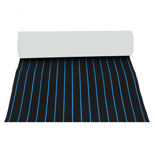 600x2300x5mm EVA Пена черная с голубыми линиями Лодка Напольное покрытие Faux Teak Decking Sheet Pad - ➊TopShop ➠ Товары из Китая с бесплатной доставкой в Украину! в Днепре