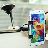360 градусов Вращающийся гибкий Авто Держатель кронштейна держателя держателя ветрового стекла для iPhone 8 iPhone X Samsung