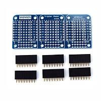 Wemos® Tripler Base V1.0.0 Для WEMOS D1 Mini