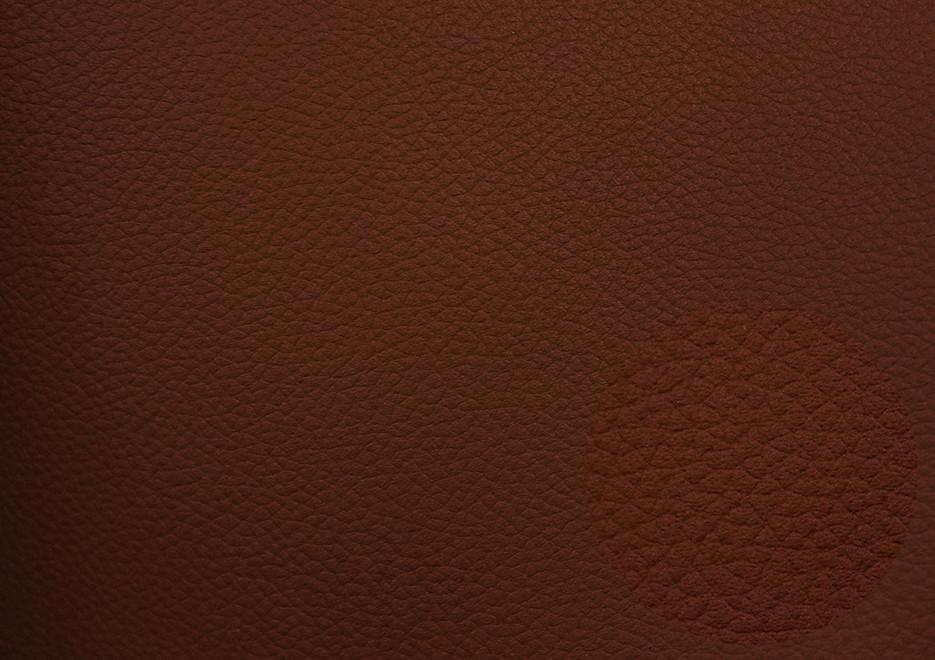 Кожзаменитель коричневый для сидушек автомобилей и мебели, немецкое качество