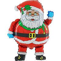 Шары воздушные фольгированные  65х75 см. Дед Мороз !