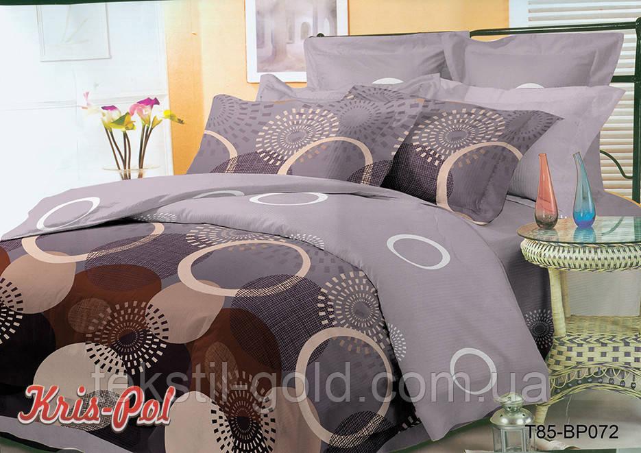 Комплект постельного белья полиэстер 3D ТМ KRIS-POL (Украина) полуторный 49850721