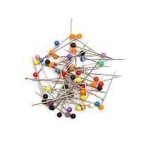 50шт. Шнуры для шитья с шариками Многоцветная вышивка одежды Свадебное DIY Ремесло ювелирные изделия Клинт-штыри 26 мм