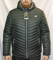 Мужская зимняя куртка Nike, теплая куртка Найк