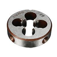 M12x1.0mm Метрическая ручная резьба Die Alloy Steel Thread Болт Round Die