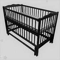 Кроватка детская  на маятнике. тм Дубок.
