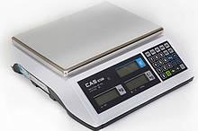 Весы торговые CAS ER-Plus E до 6 кг