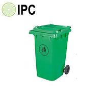 Бак пластиковый для мусора 360 л